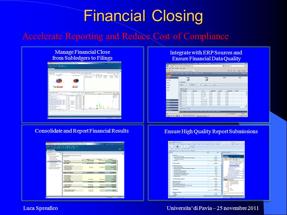 Financial Closing Accelerate Reporting and Reduce Cost of Compliance