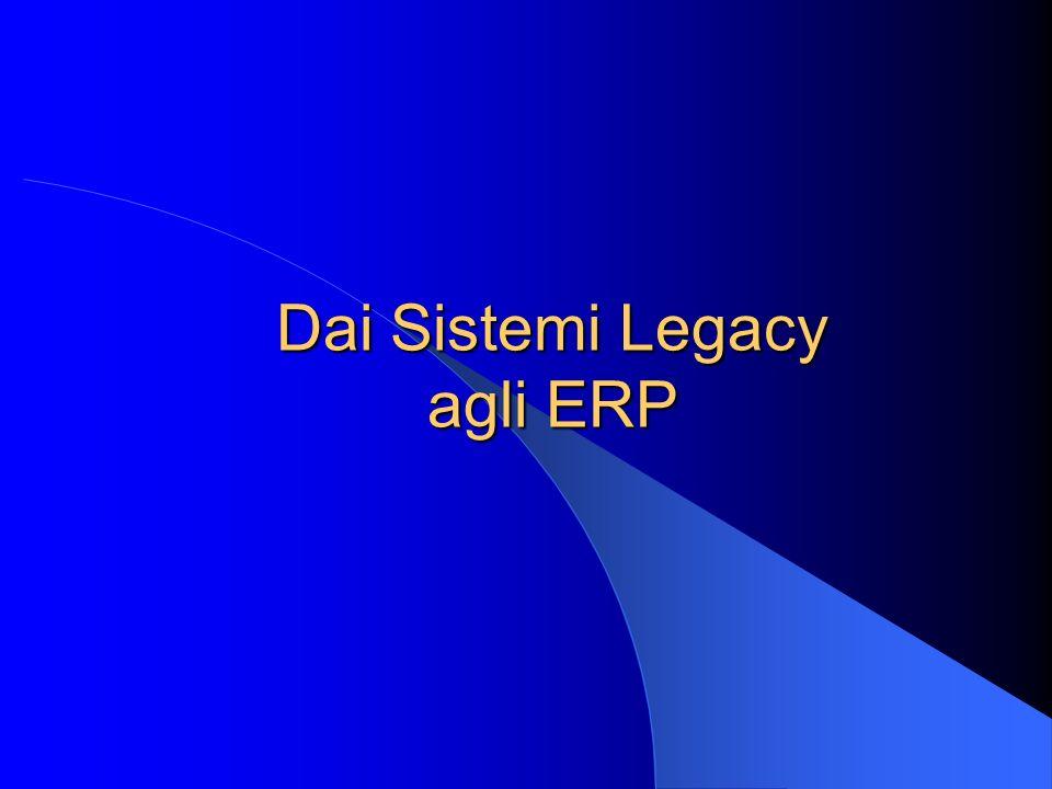 Dai Sistemi Legacy agli ERP