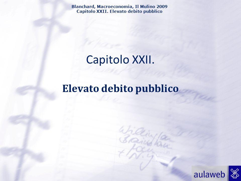 Elevato debito pubblico