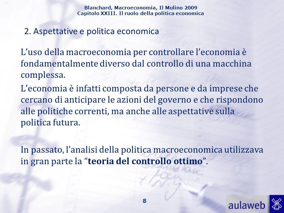 2. Aspettative e politica economica