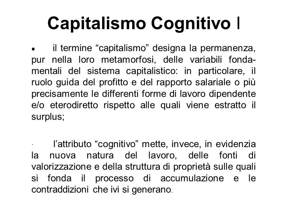 Capitalismo Cognitivo I