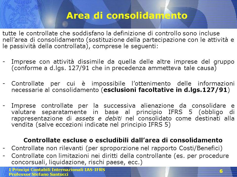 Area di consolidamento