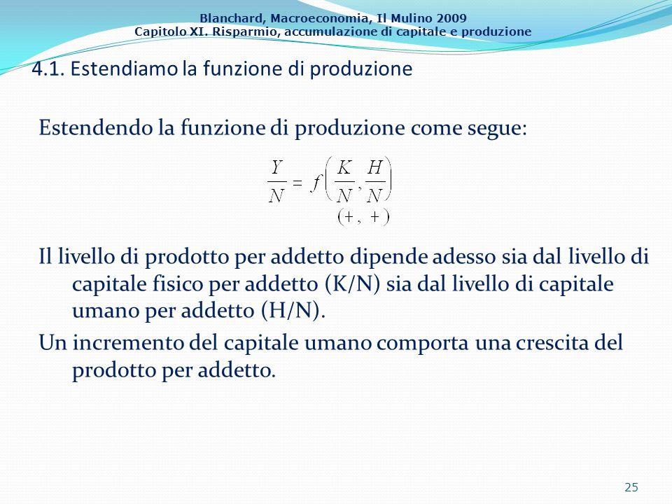 4.1. Estendiamo la funzione di produzione