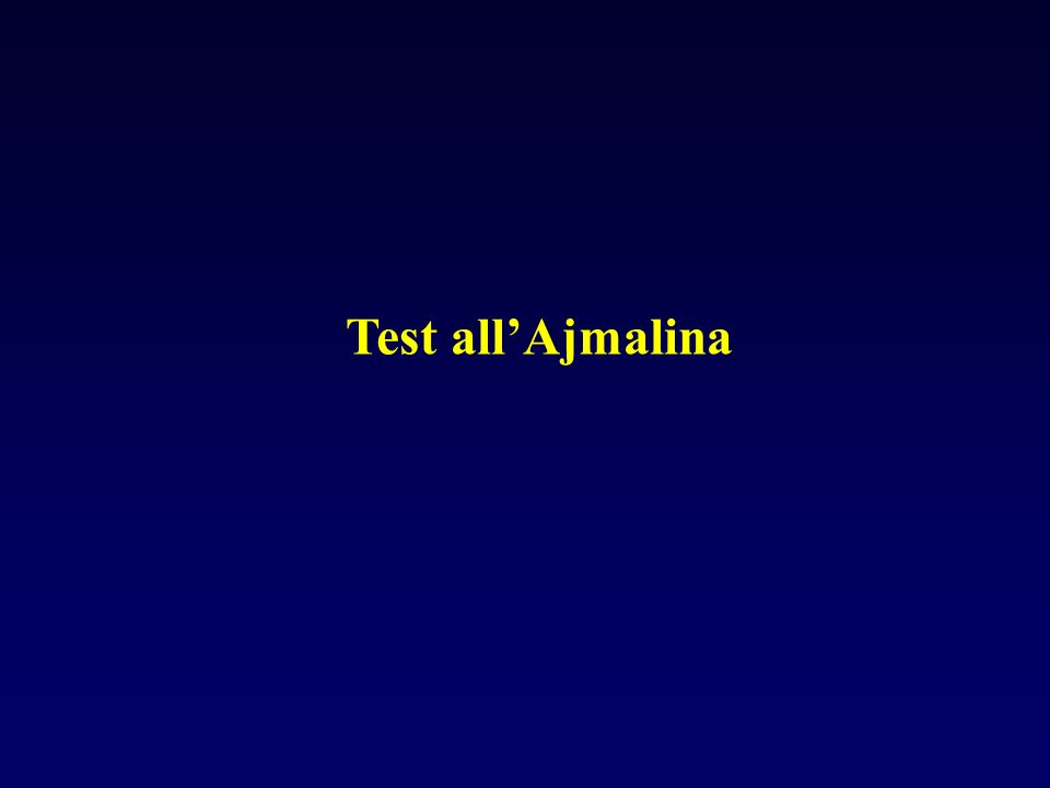 Test all'Ajmalina