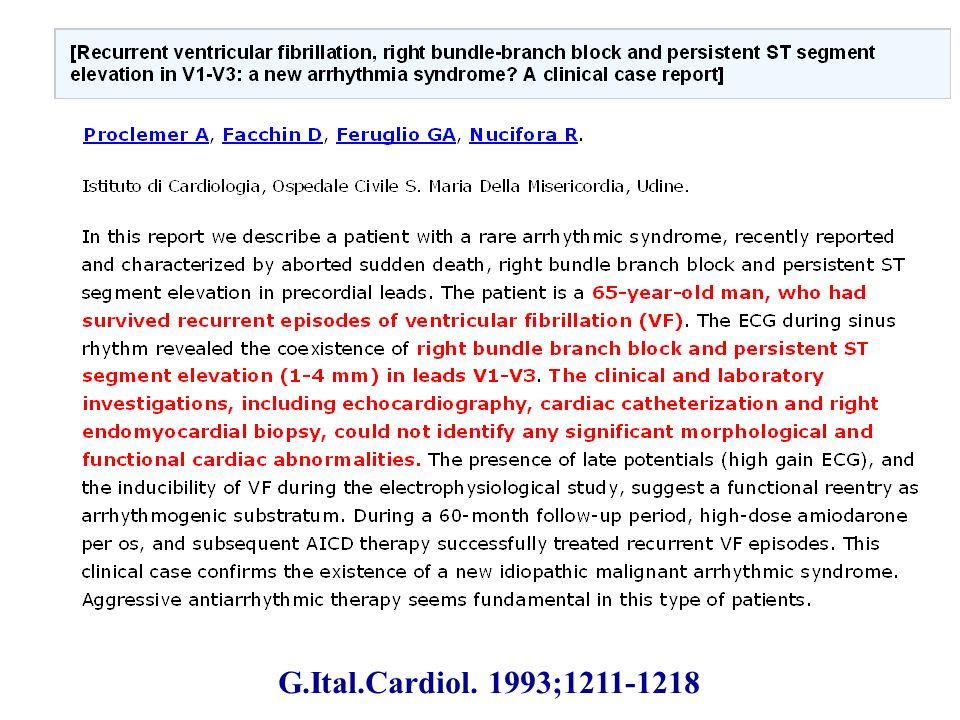G.Ital.Cardiol. 1993;1211-1218