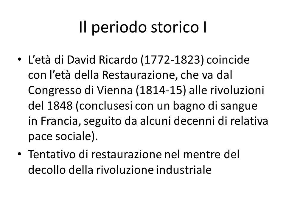 Il periodo storico I