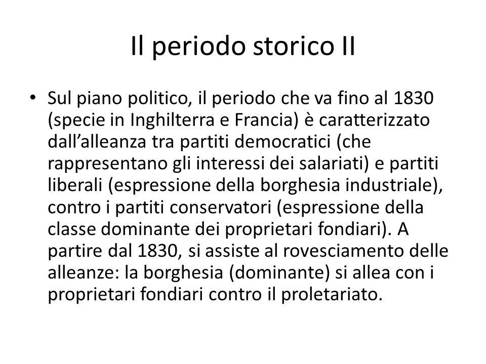 Il periodo storico II