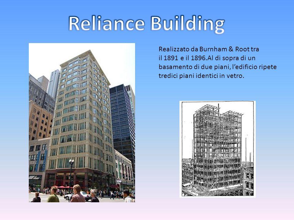 Reliance Building Realizzato da Burnham & Root tra