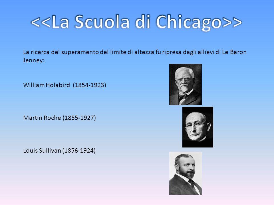 <<La Scuola di Chicago>>