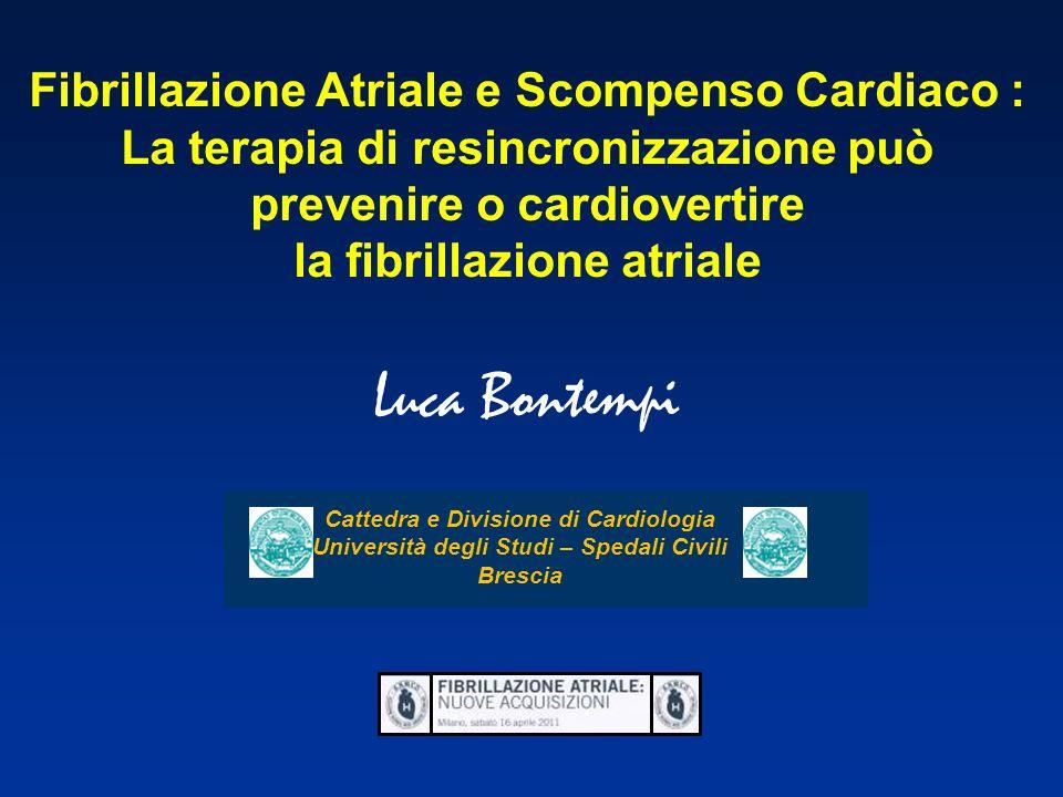Luca Bontempi Fibrillazione Atriale e Scompenso Cardiaco :