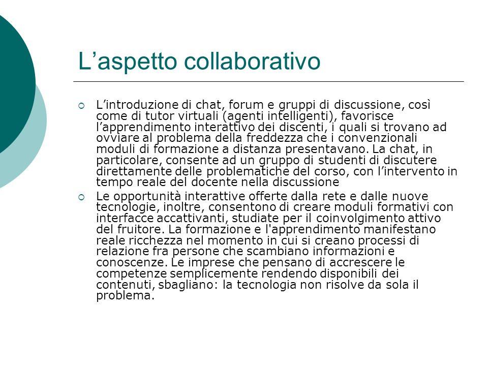 L'aspetto collaborativo