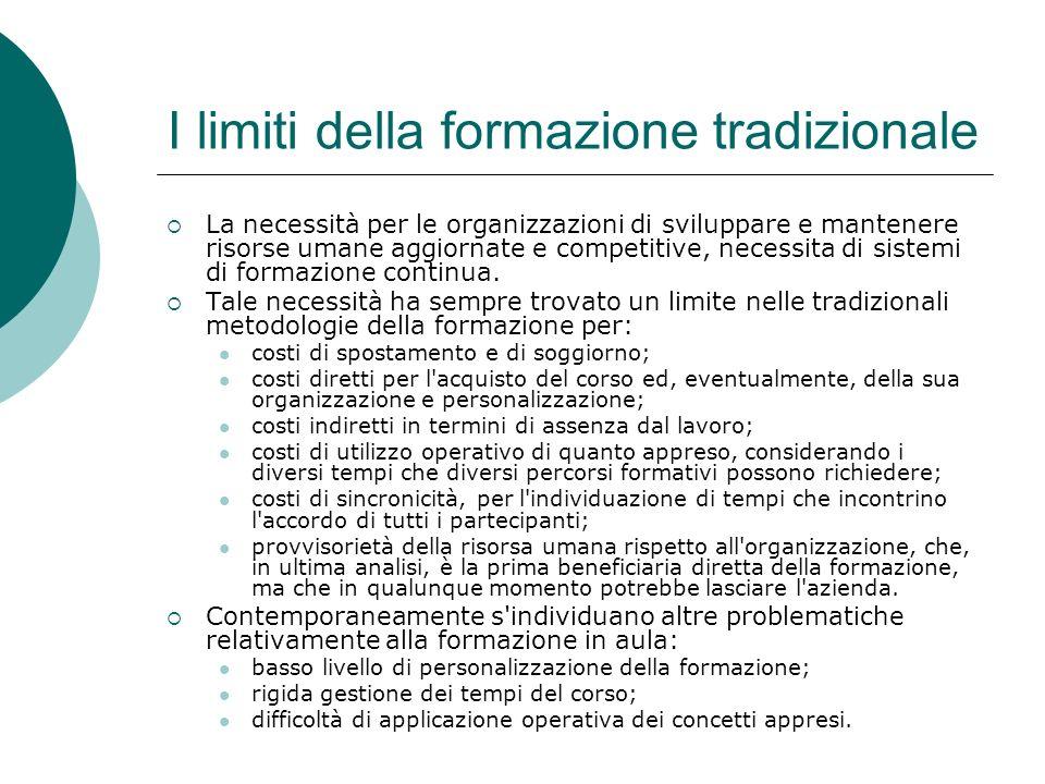 I limiti della formazione tradizionale