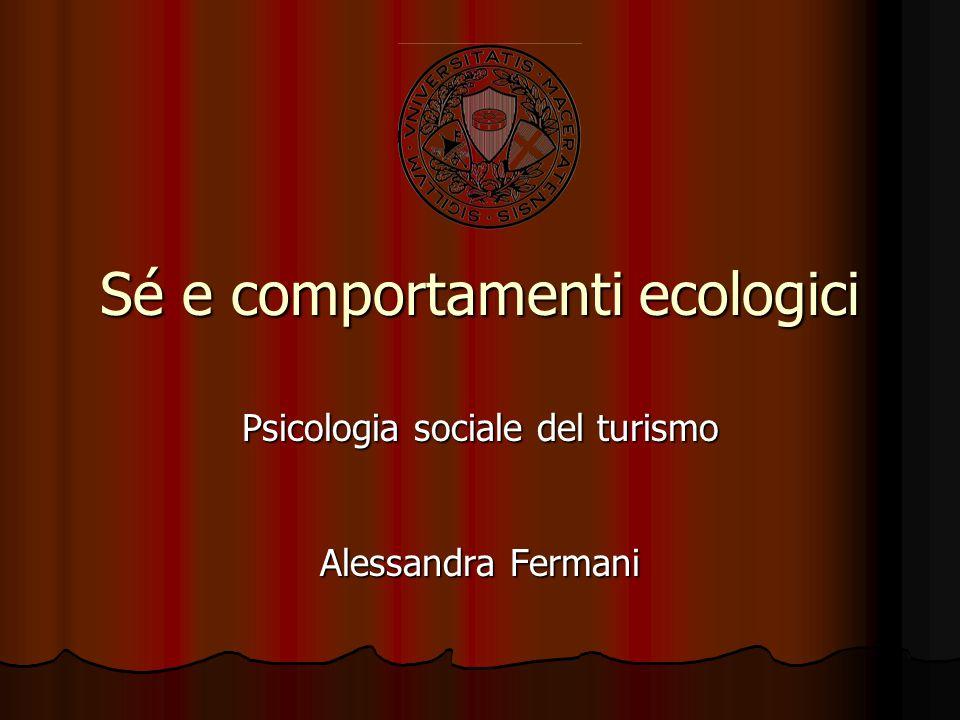Sé e comportamenti ecologici