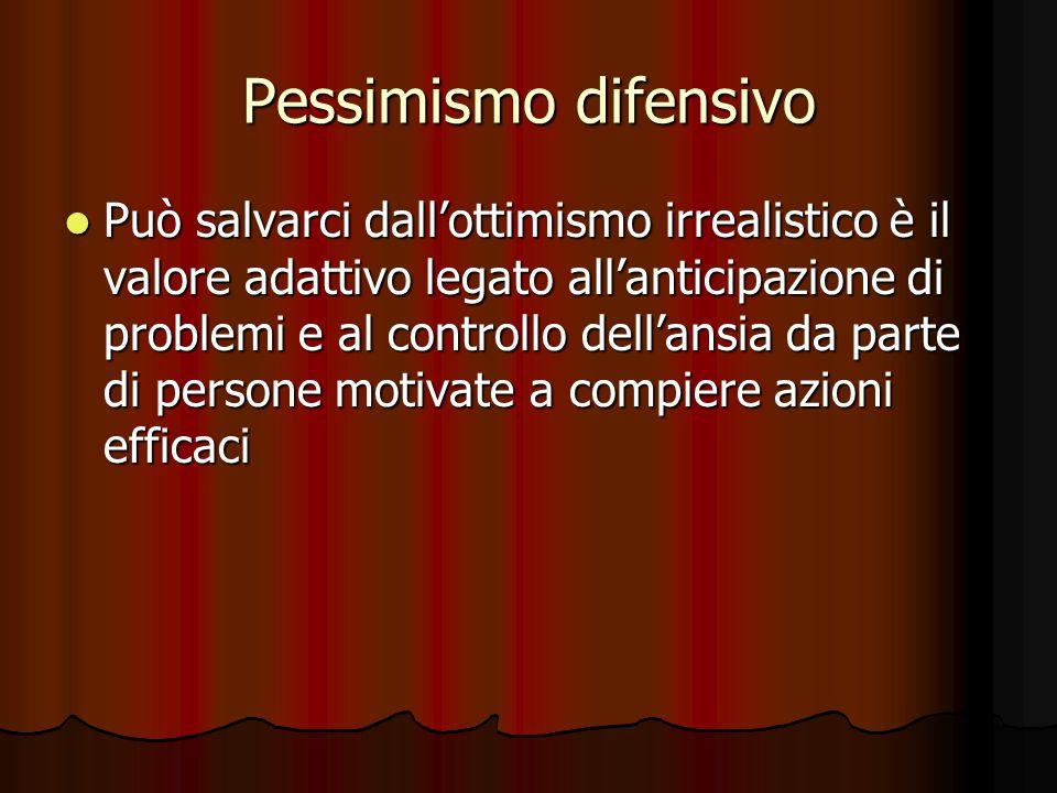 Pessimismo difensivo