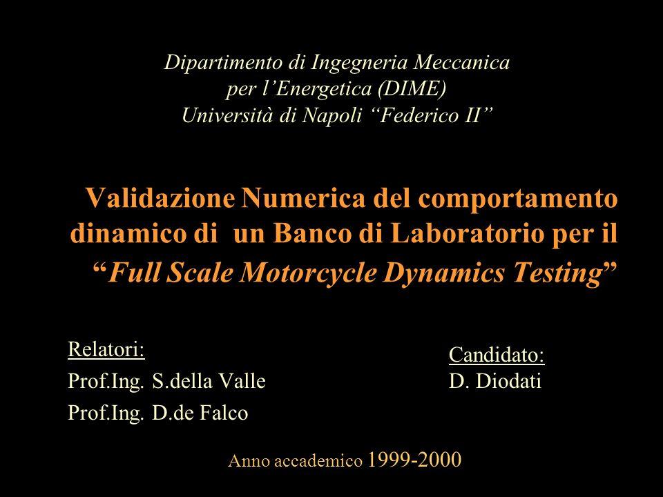 Relatori: Prof.Ing. S.della Valle Prof.Ing. D.de Falco