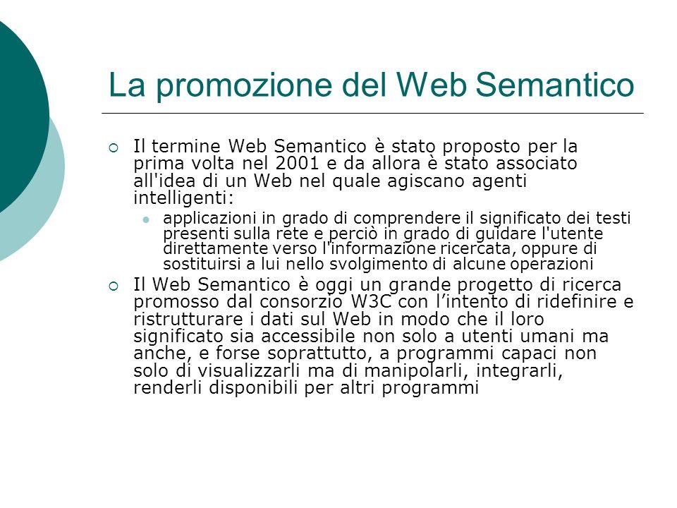 La promozione del Web Semantico