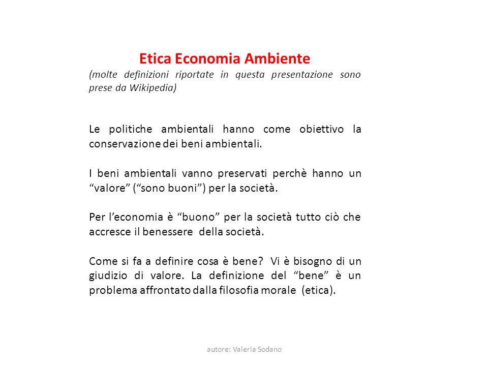 Etica Economia Ambiente
