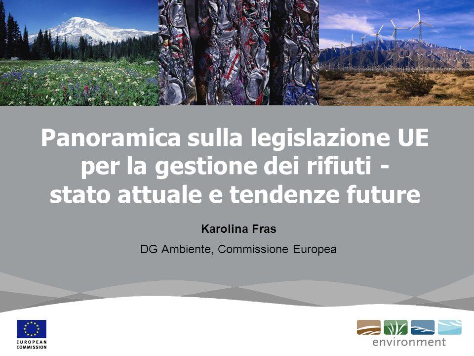 Karolina Fras DG Ambiente, Commissione Europea