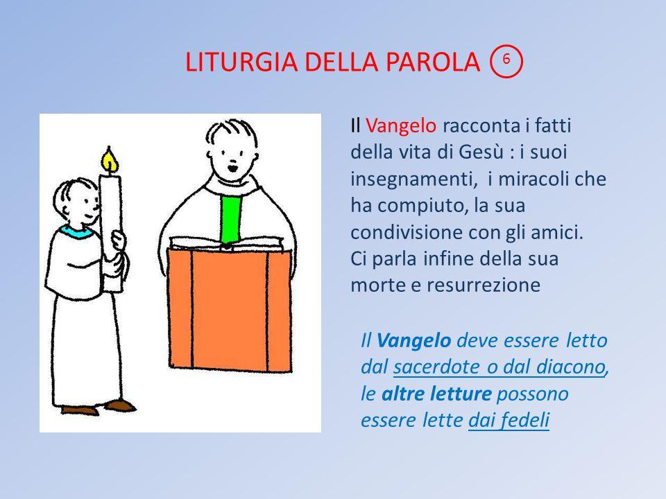 LITURGIA DELLA PAROLA 6.