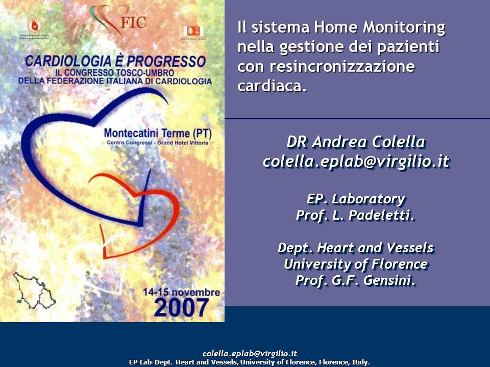 BIOTRONIK SEDA Il sistema Home Monitoring nella gestione dei pazienti con resincronizzazione cardiaca.