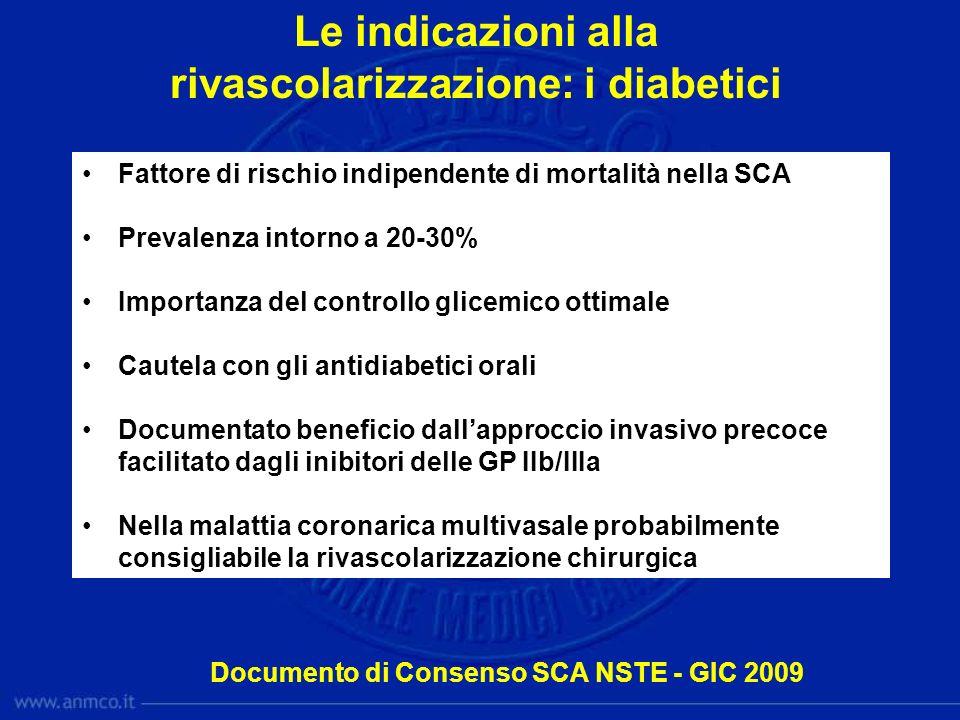 rivascolarizzazione: i diabetici