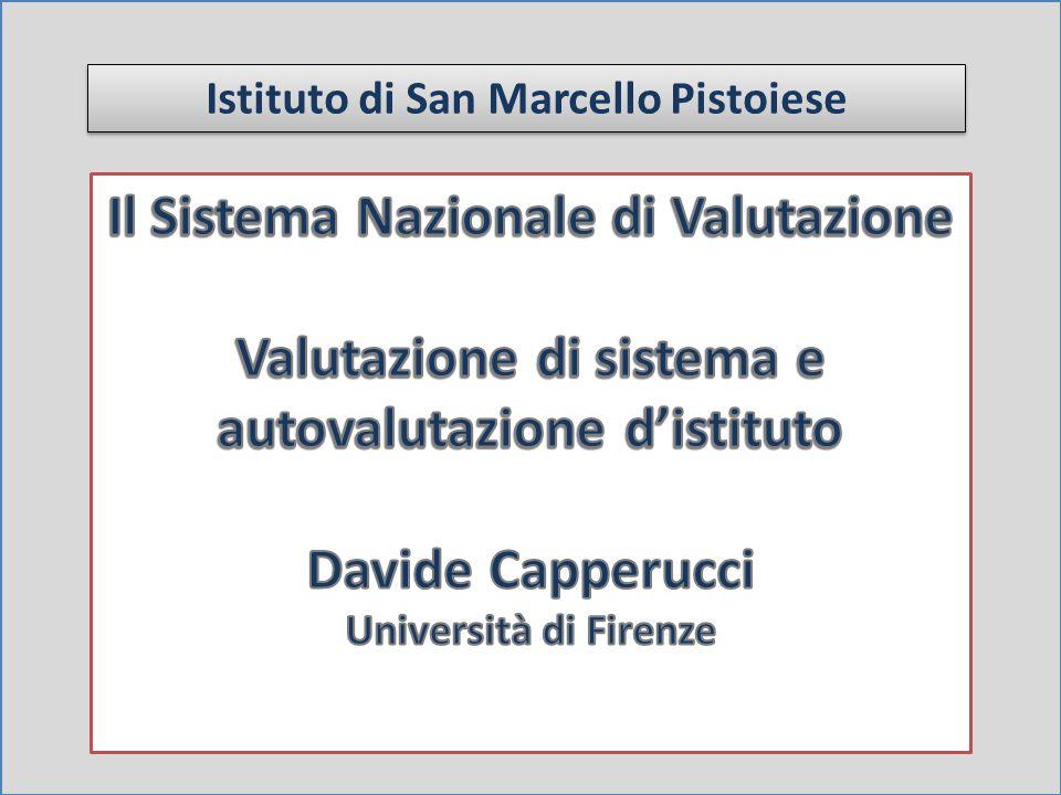 Il Sistema Nazionale di Valutazione