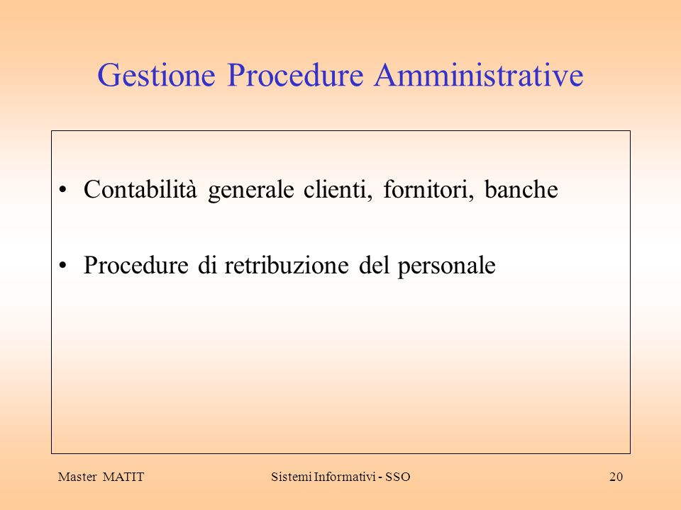 Gestione Procedure Amministrative