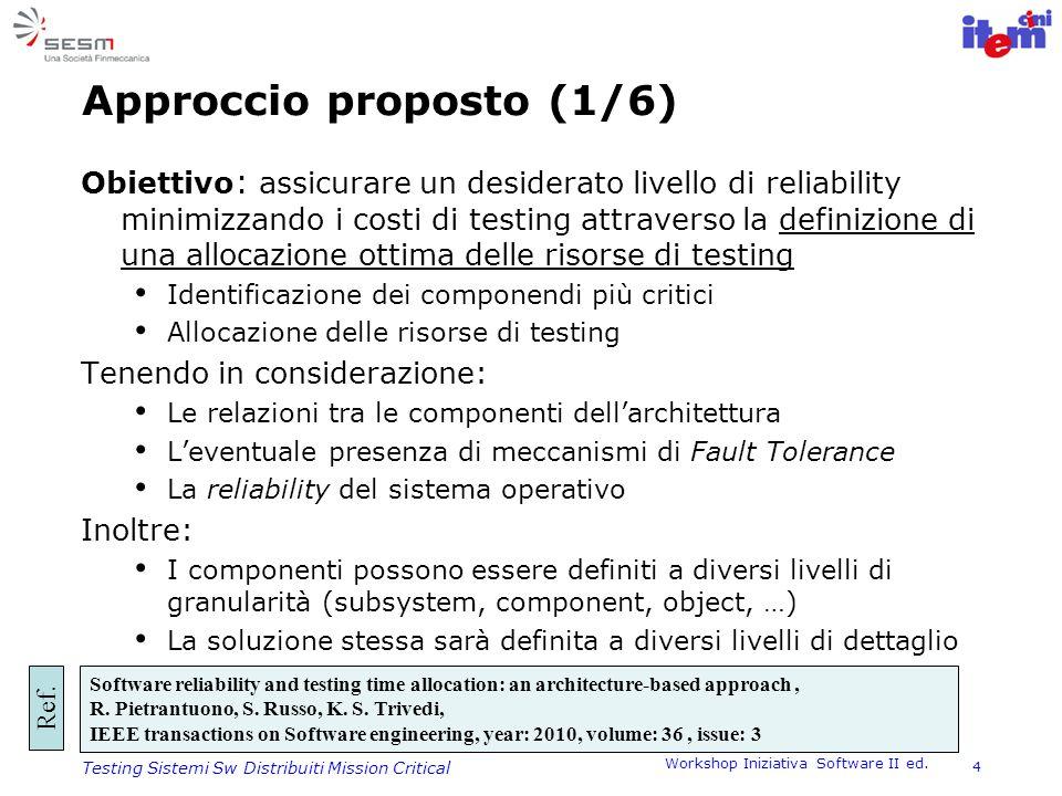 Approccio proposto (1/6)