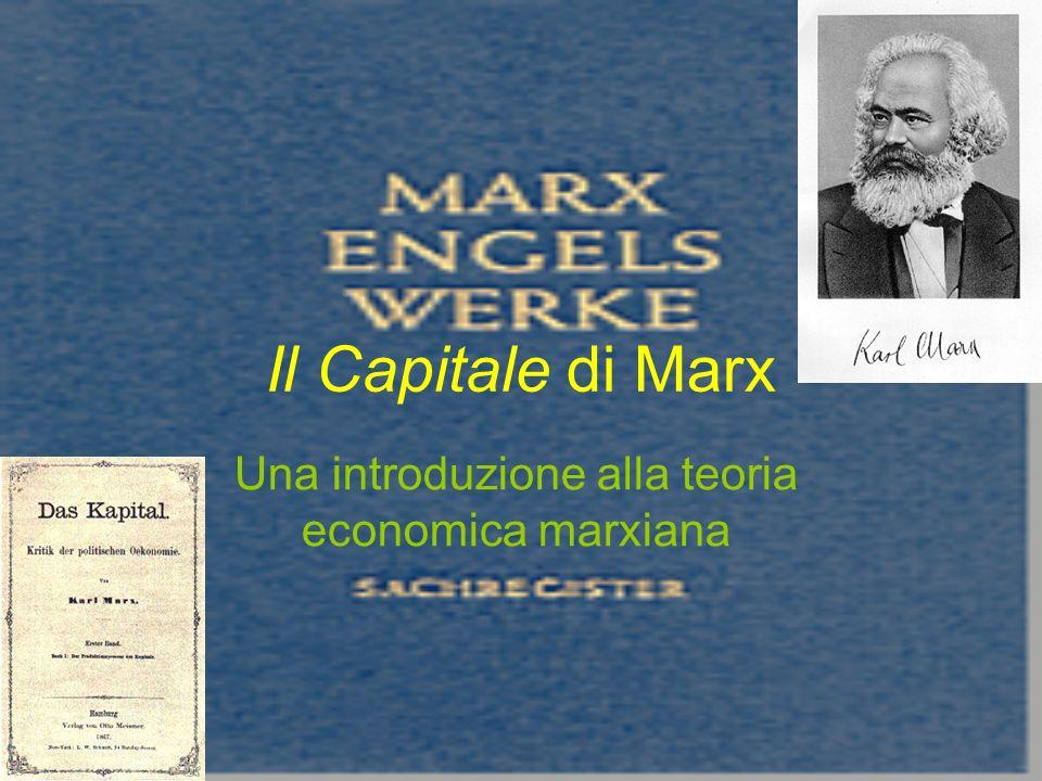 Una introduzione alla teoria economica marxiana