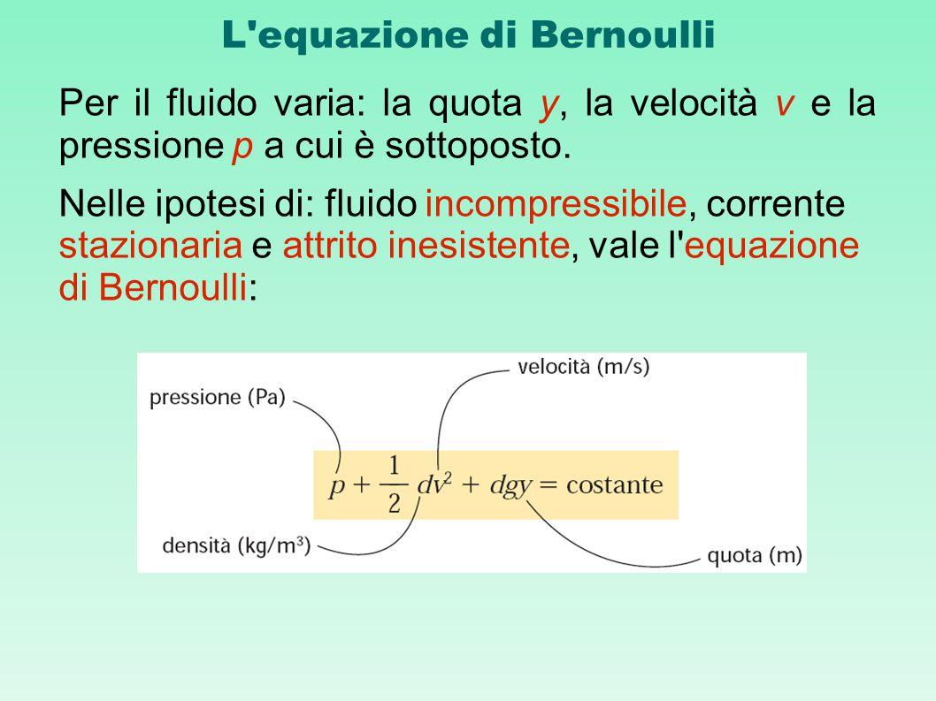 L equazione di Bernoulli