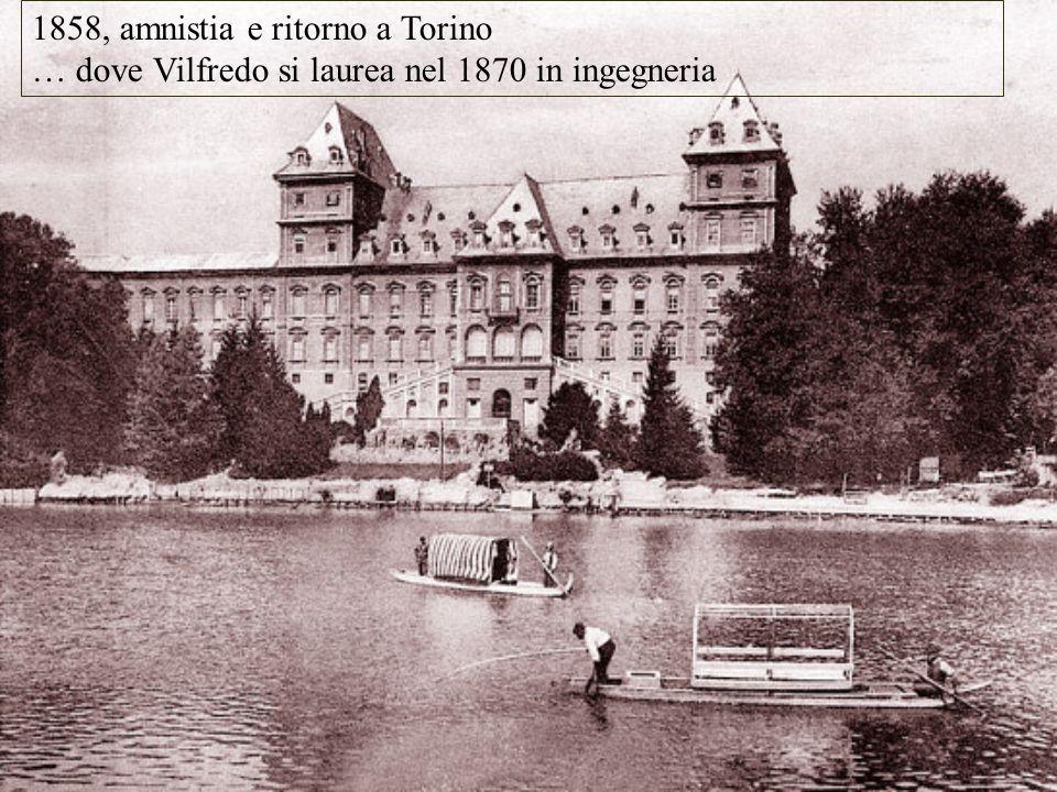 1858, amnistia e ritorno a Torino