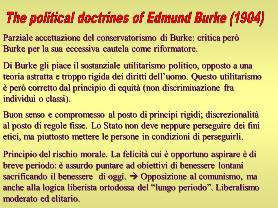 The political doctrines of Edmund Burke (1904)