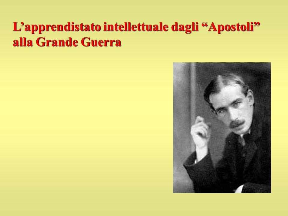 L'apprendistato intellettuale dagli Apostoli alla Grande Guerra