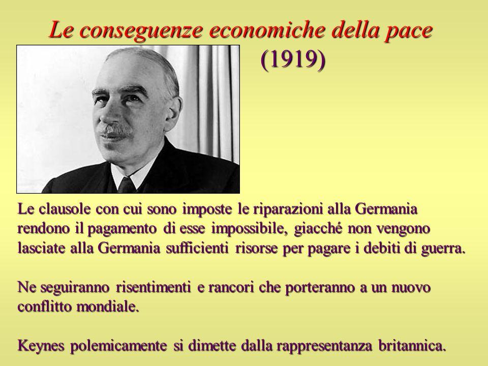Le conseguenze economiche della pace (1919)