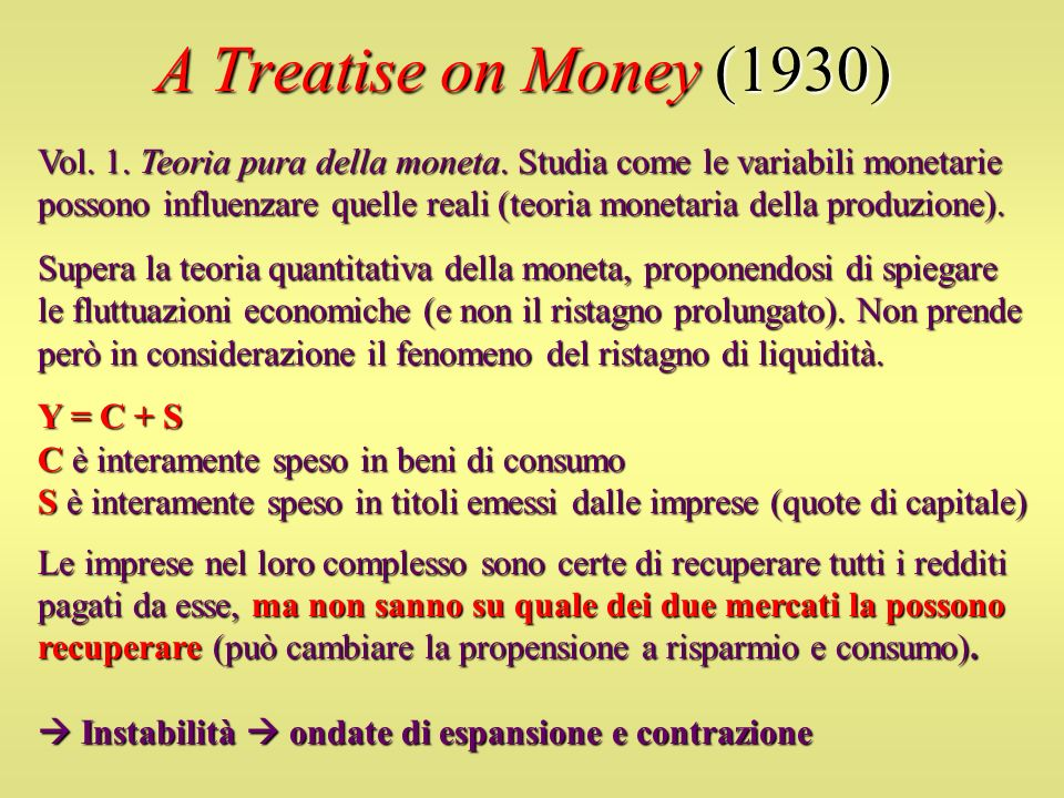 A Treatise on Money (1930)
