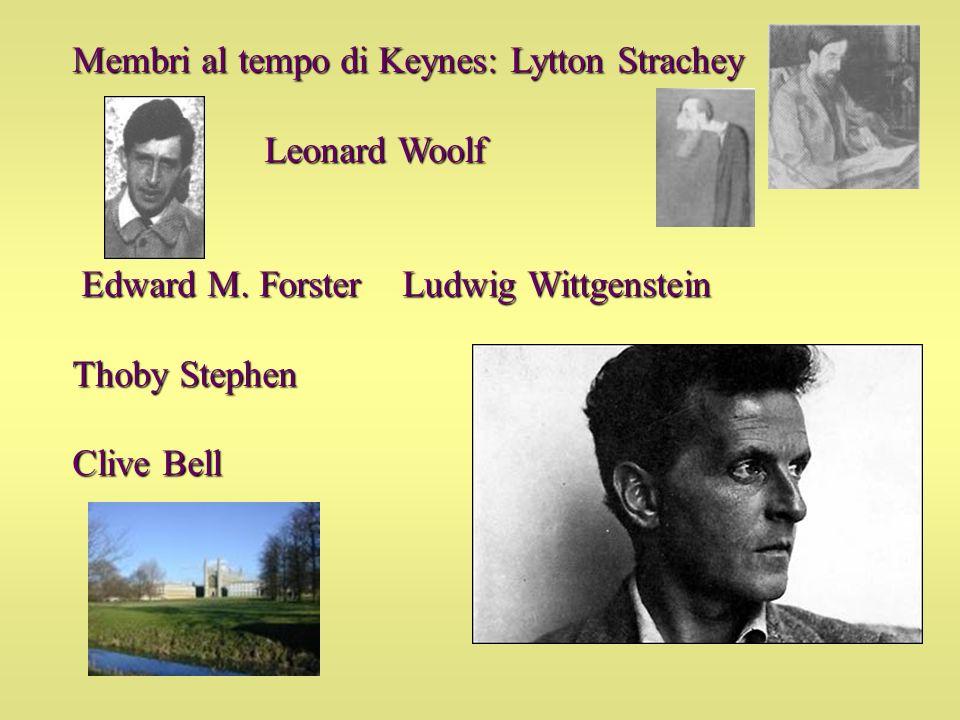 Membri al tempo di Keynes: Lytton Strachey