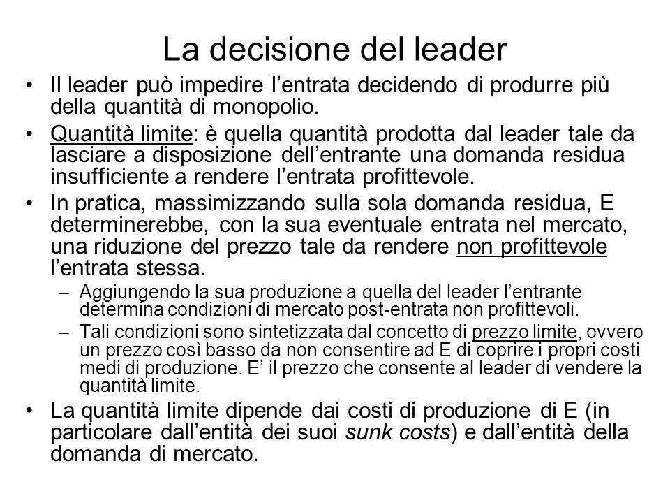 La decisione del leader