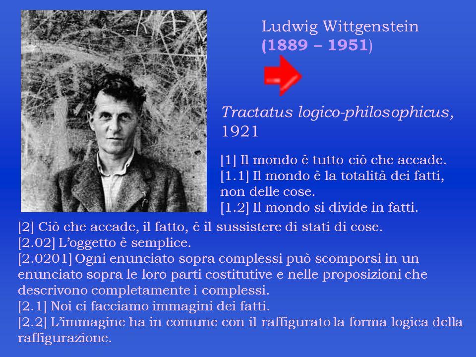 Tractatus logico-philosophicus, 1921
