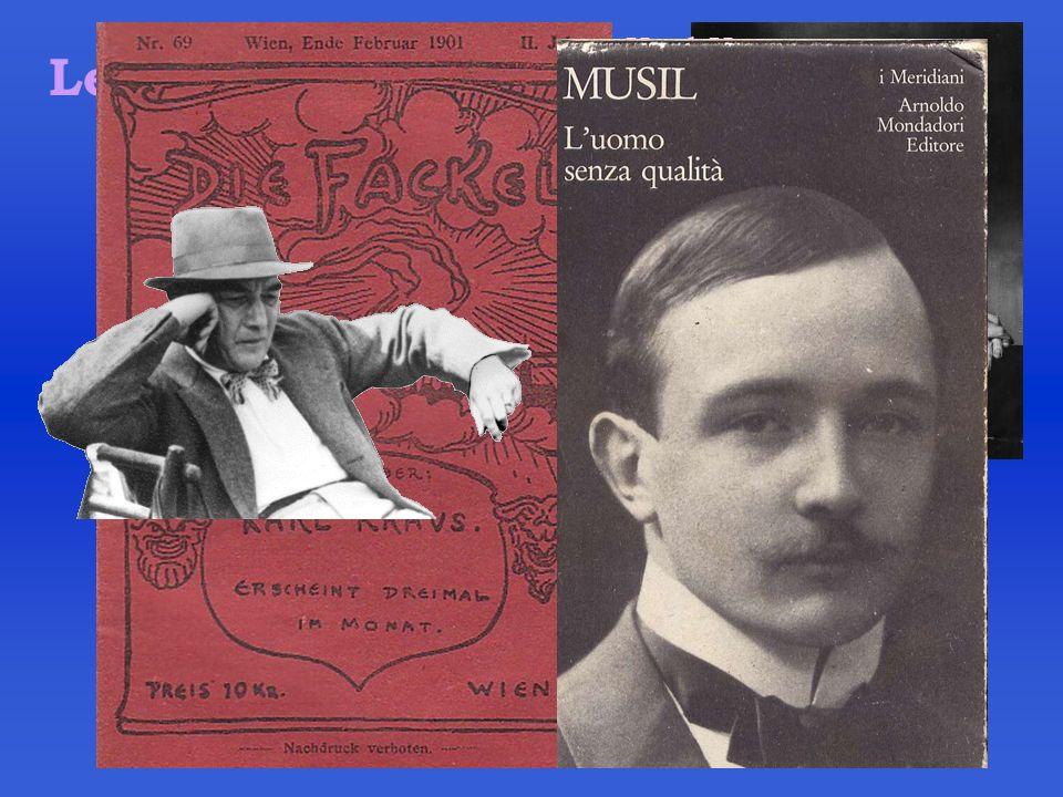Karl Kraus Letteratura Robert Musil