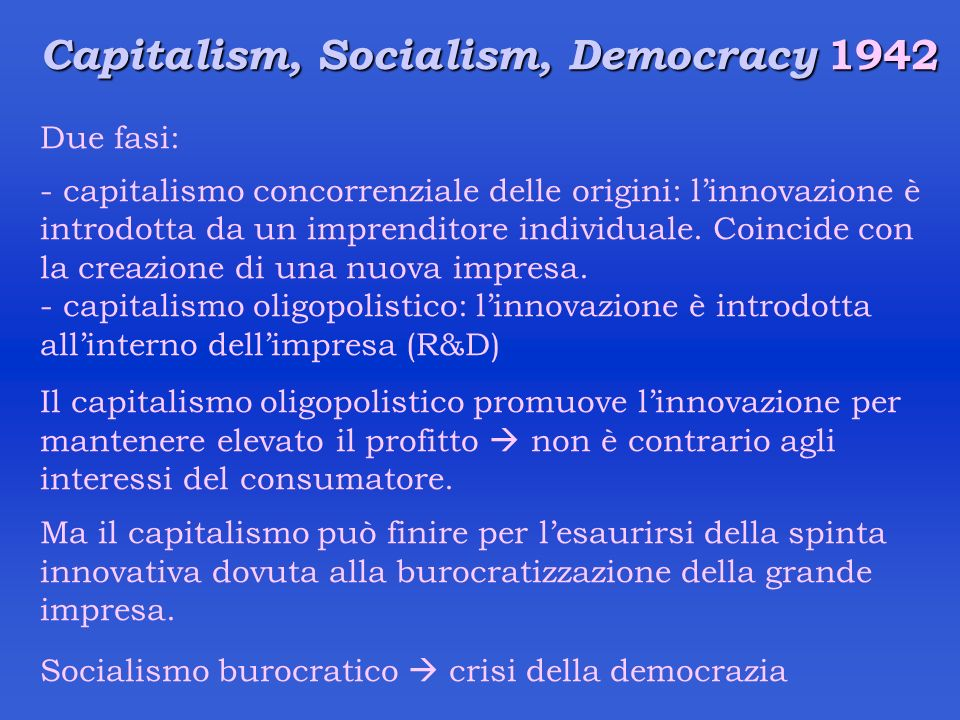 Capitalism, Socialism, Democracy 1942