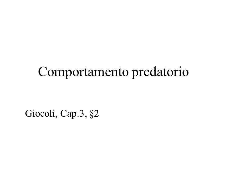 Comportamento predatorio