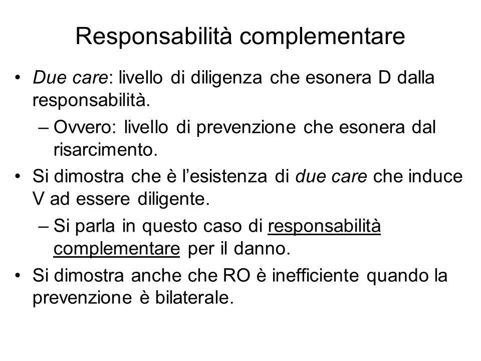 Responsabilità complementare