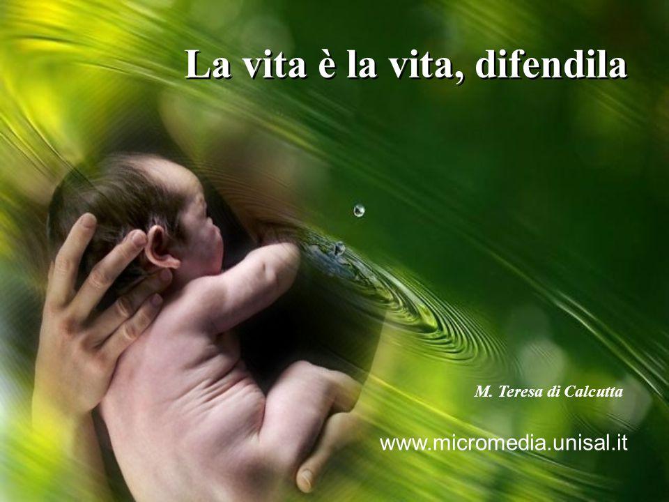 La vita è la vita, difendila