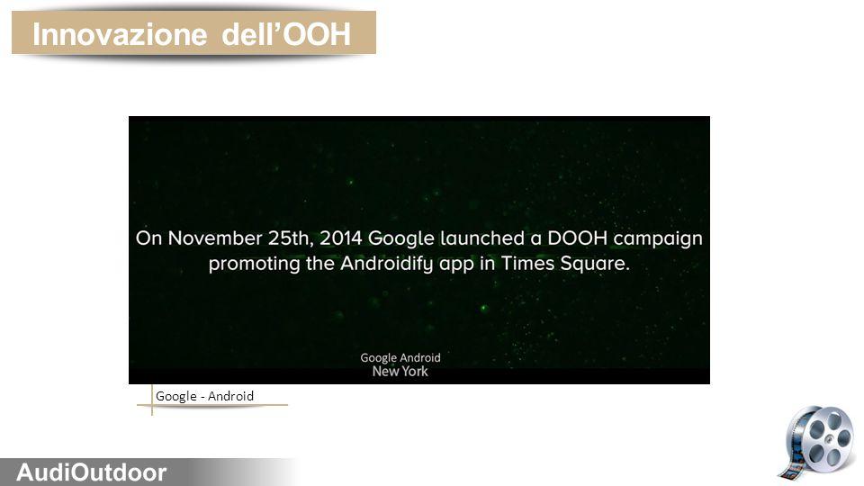 Innovazione dell'OOH Google - Android