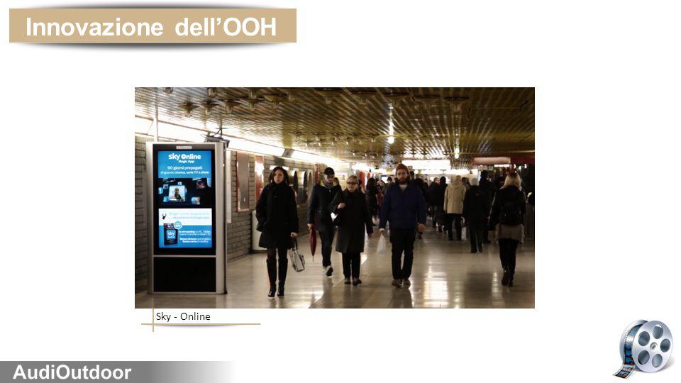 Innovazione dell'OOH Sky - Online