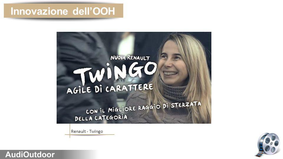 Innovazione dell'OOH Renault - Twingo
