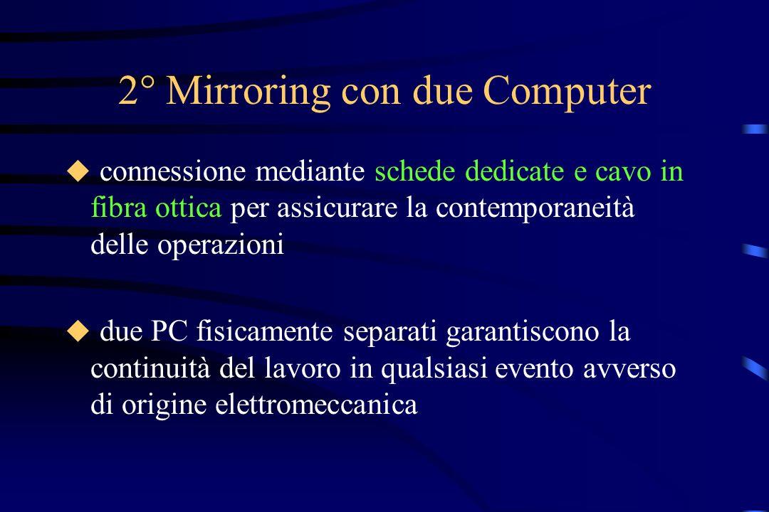 2° Mirroring con due Computer