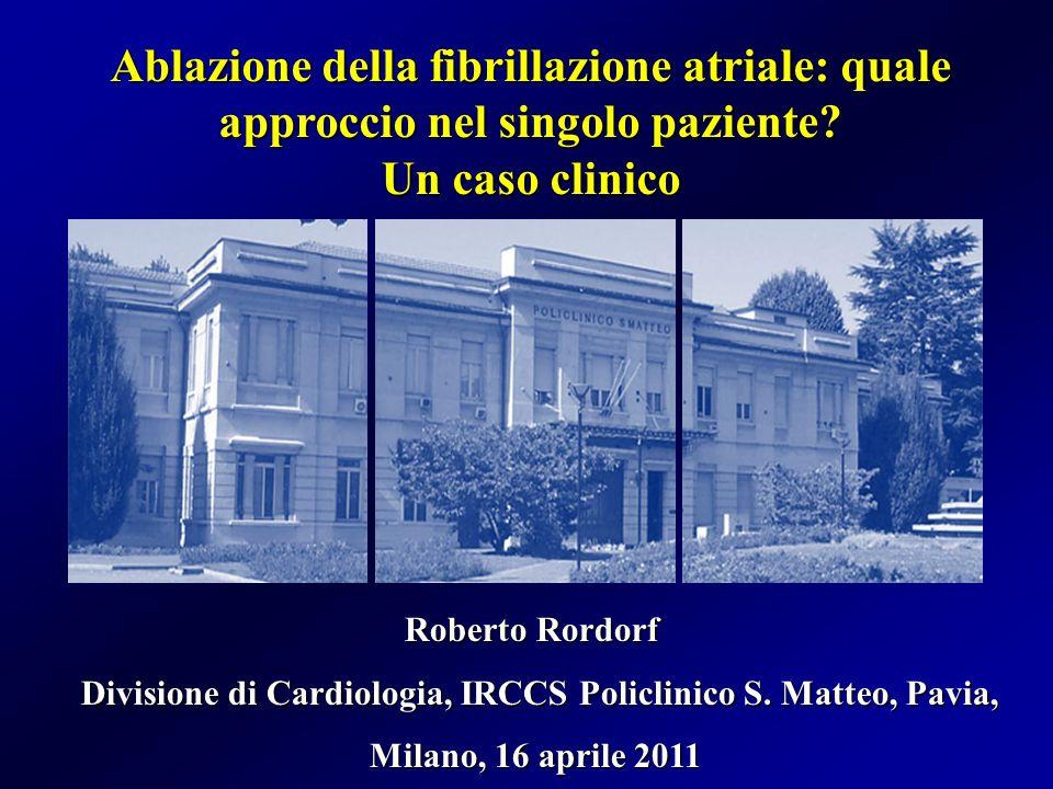 Divisione di Cardiologia, IRCCS Policlinico S. Matteo, Pavia,