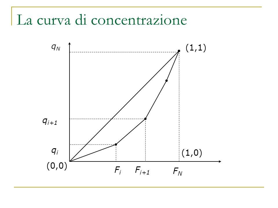 La curva di concentrazione
