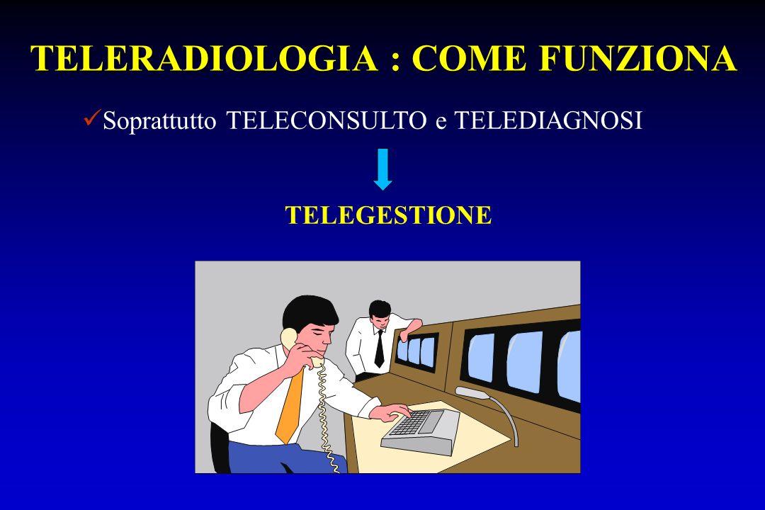 TELERADIOLOGIA : COME FUNZIONA